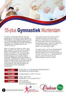 Ouderen Actief 55+ gymnastiek