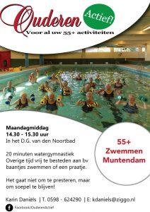 Ouderen Actief 55+ zwemmen